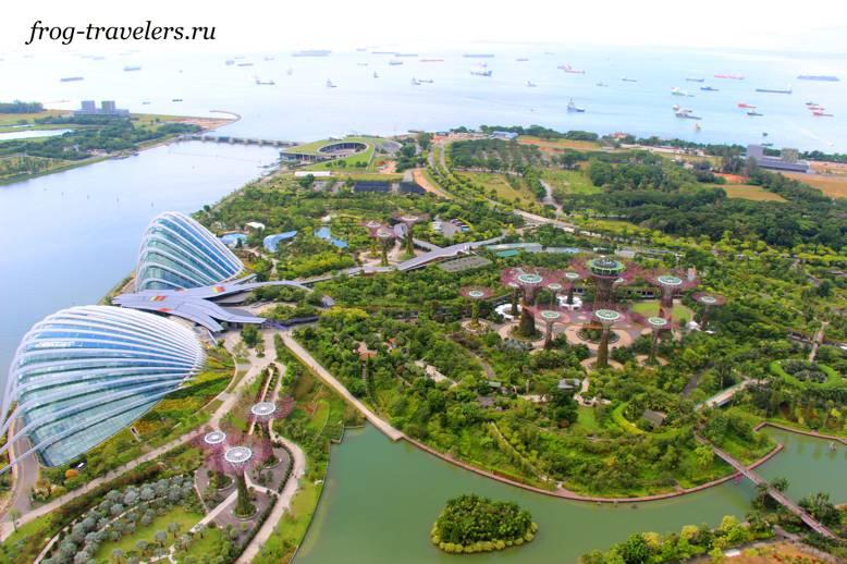 Фото Сады у залива Сингапур