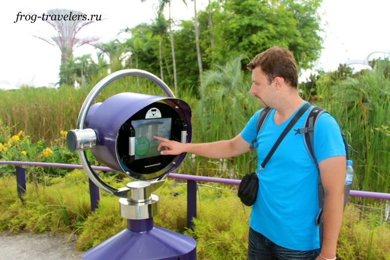 Бинокль для наблюдения за стрекозами