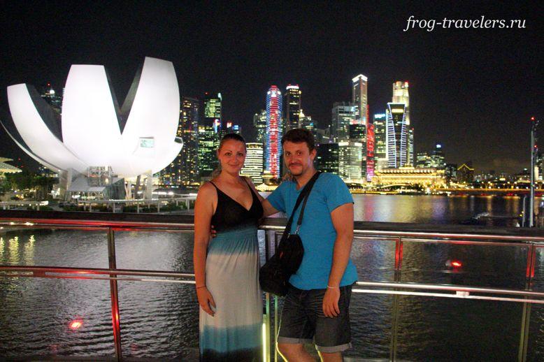 Марина и Костя Саморосенко в Сингапуре