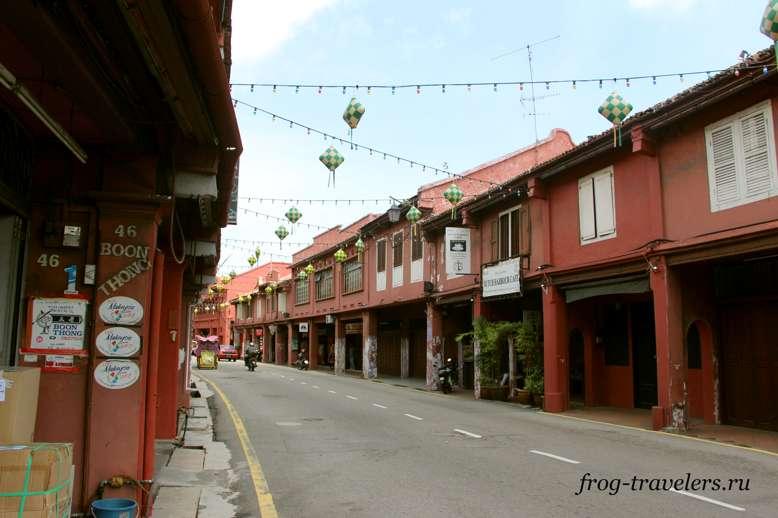 Улицы в Малакке