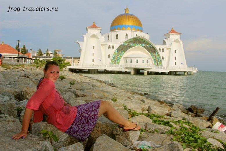 Марина Саморосенко на Андаманском море