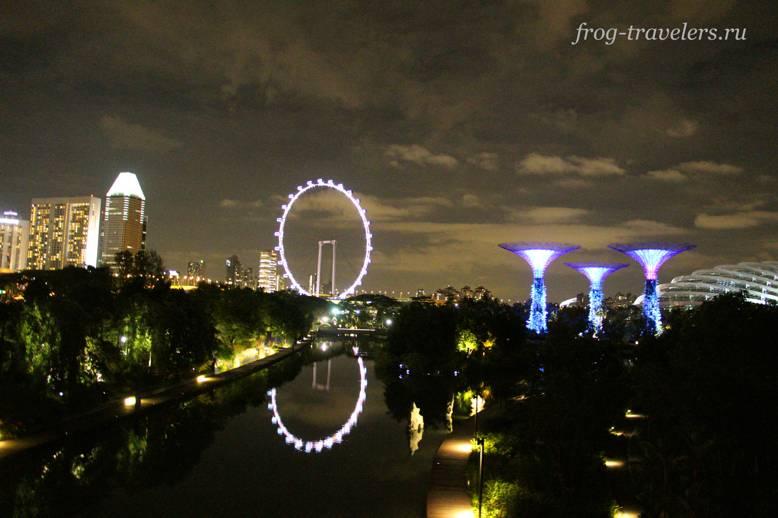 Ночной Сингапур