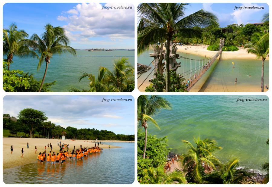Пляжи Сингапура