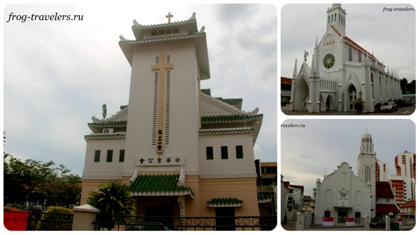 Христианские храмы Сингапура