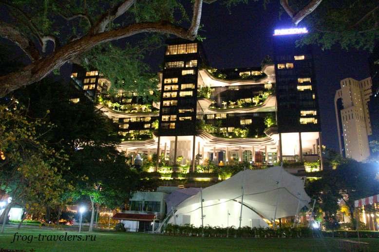 Отель Parkroyal on Pickering Сингапур