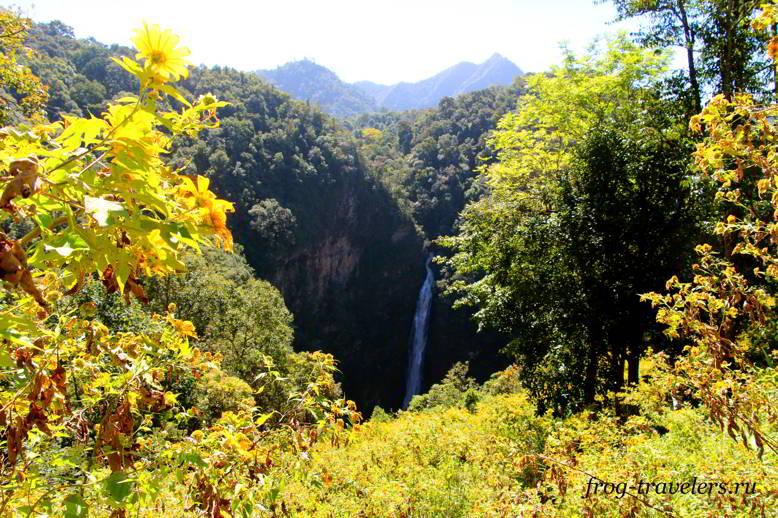 Национальный парк Мэ Сурин Тайланд