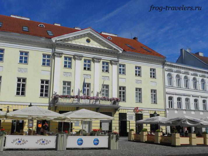Достопримечательности Тарту на фото Эстония