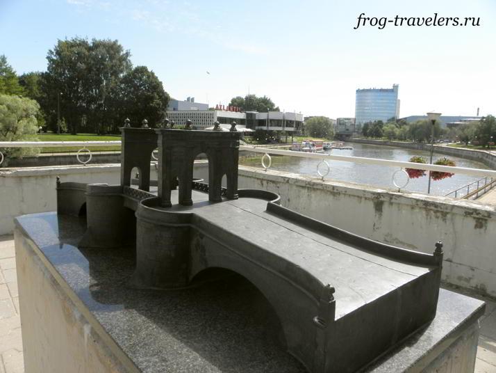 Макет моста Каарсильд