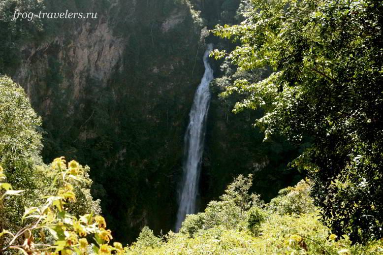Водопад Мэ Сурин в Тайланде
