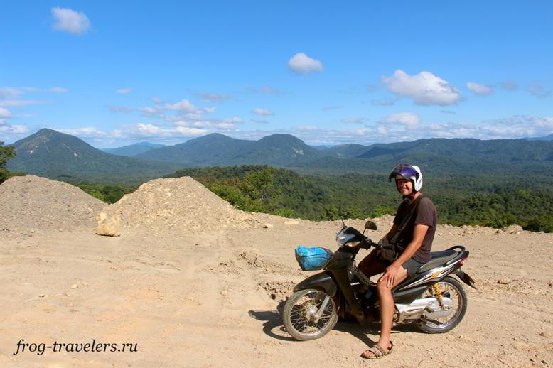Аренда мото-байка Лаос цены