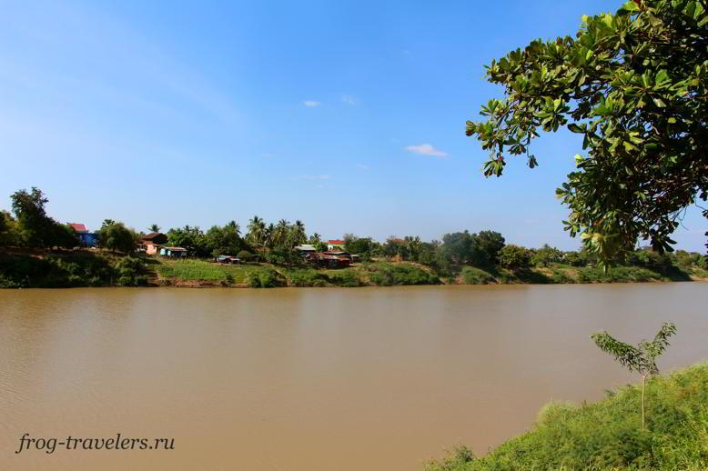 Река Седон - приток Меконга