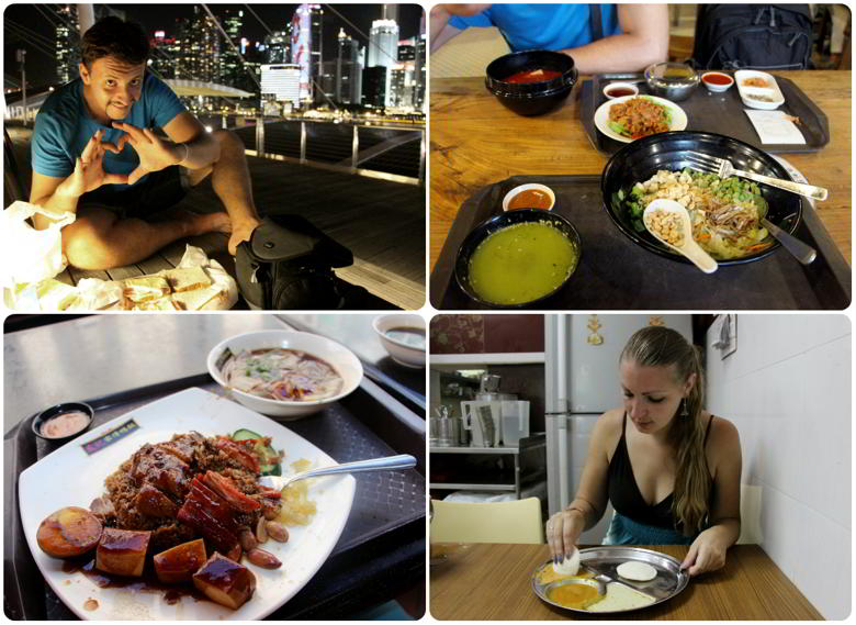 Траты на еду Сингапур