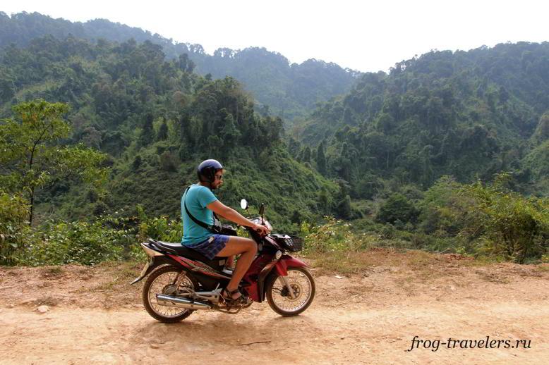 Прокат мотоциклов Ванг-Вьенг Лаос