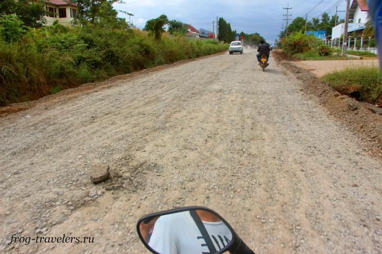 Дороги Пхонсаван Лаос