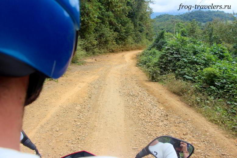 Дороги Ванг-Вьенг Лаос