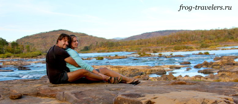 Константин и Марина Саморосенко путешествуют по Лаосу