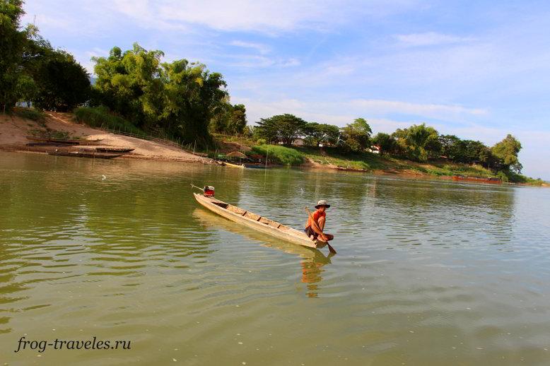 Рыбалка на Меконге