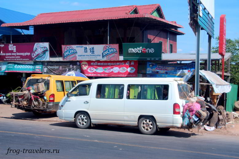 Из Лаоса в Камбоджу