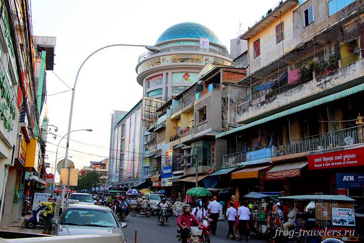 Снять байк в Пном-Пене