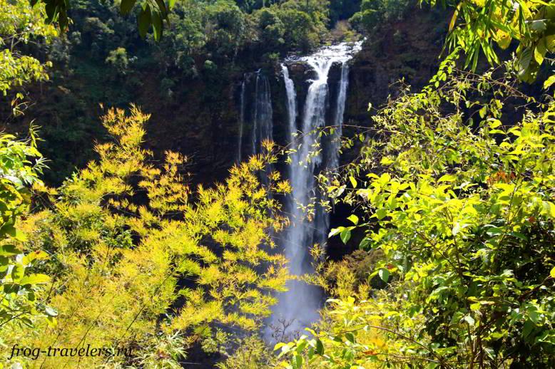 Водопады плато Болавен на фото