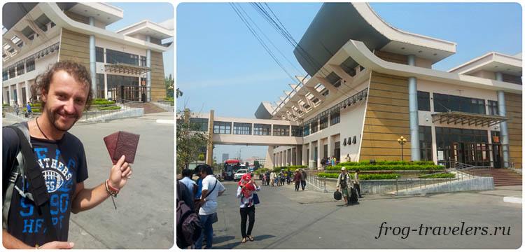 Граница Камбоджа - Вьетнам