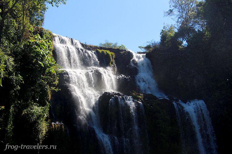 Лучшие водопады Лаос