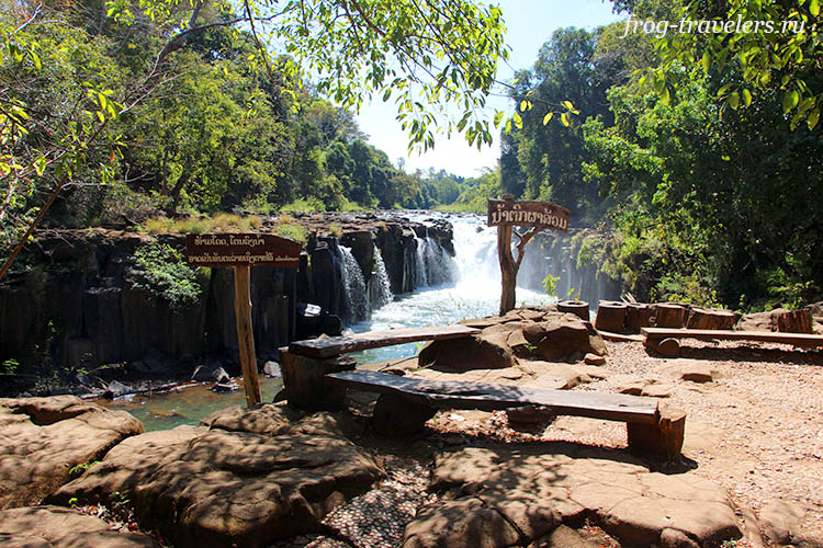 Смотровая площадка на водопад Tad Pha Suam Waterfall