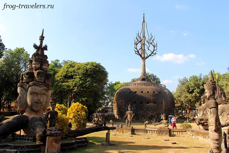 Парк Будды Вьентьян