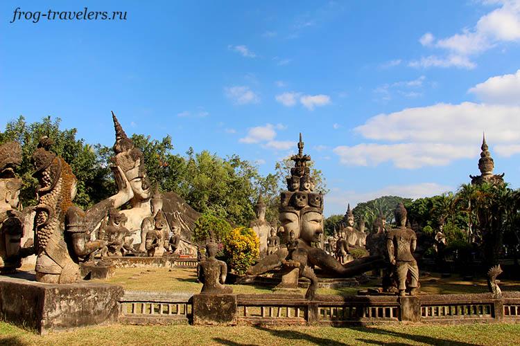 Будда-парк Вьентьян