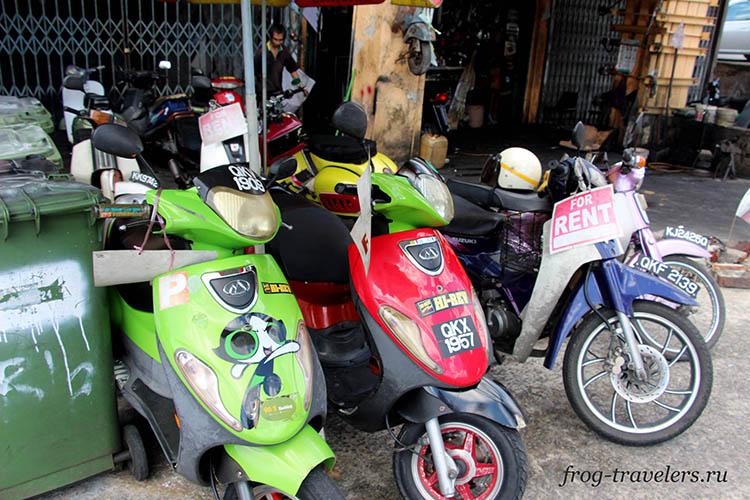 Аренда мотоциклов Кучинг Малайзия