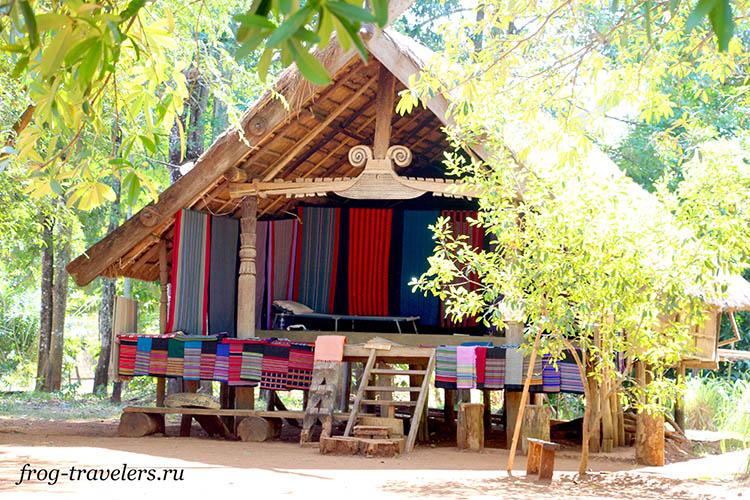 Ткани Лаоса