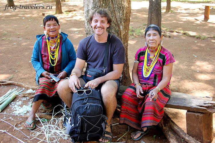 Жители плато Болавен