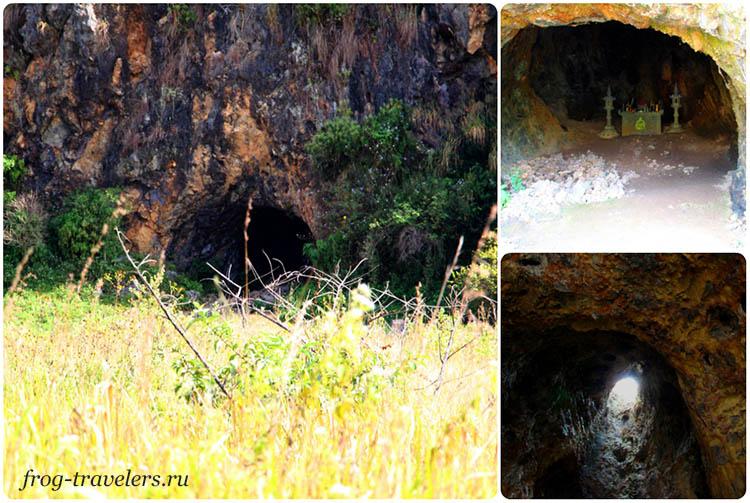 Пещера-крематорий