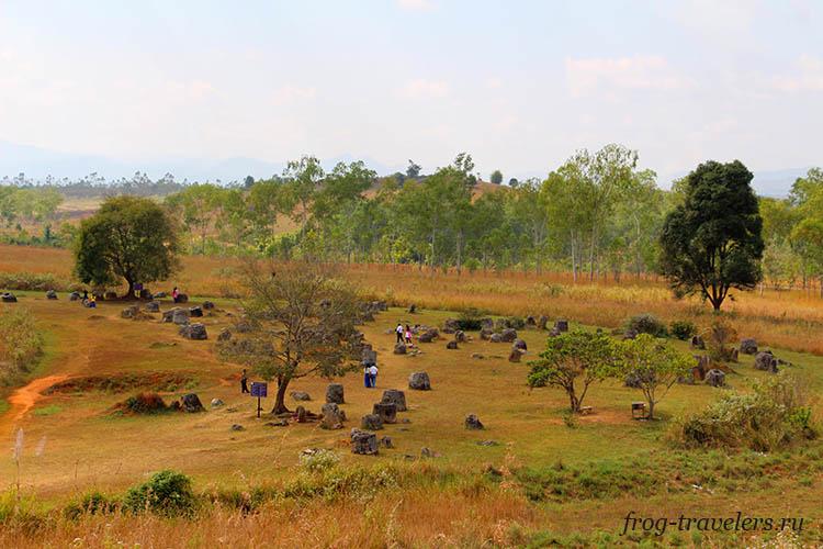 Долина кувшинов Лаос