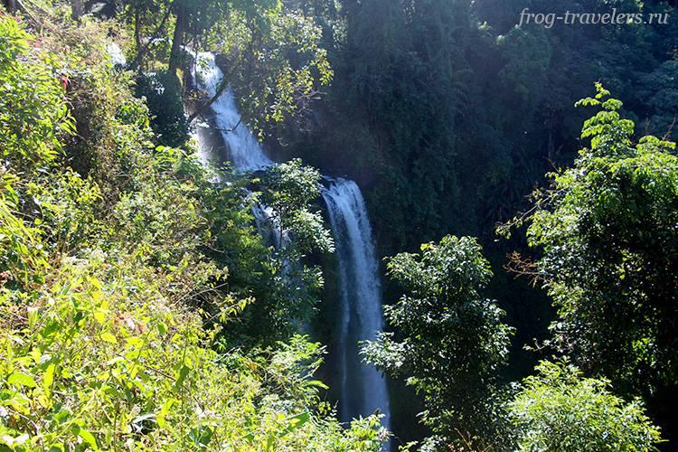 Водопад Tad Yuang (Gneuang) Waterfall