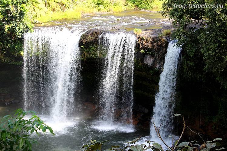 Водопад Tad Thamchampy Waterfall