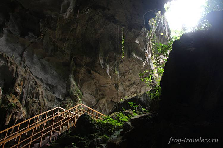 Выход из пещеры