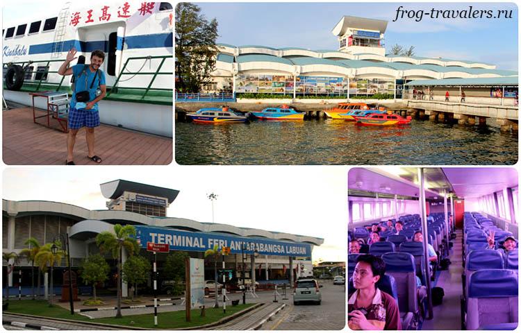 Как добраться в Бруней по воде катером (паромом)