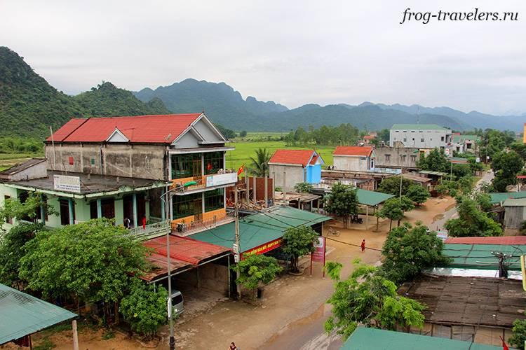 Деревня Фонгня