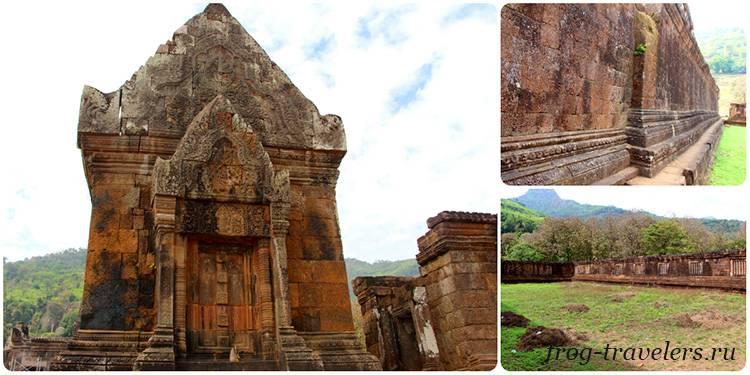 Северный храм Ват Пху