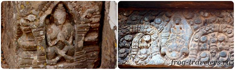 Кхмерские барельефы