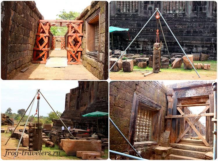 Реставрация древних храмов