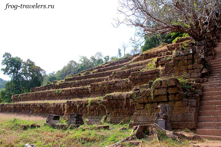 Террасы Ват Пху