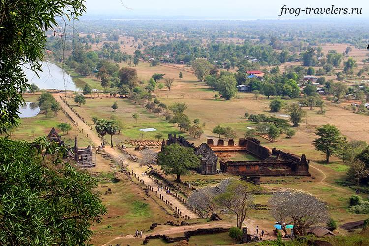 Южный храм Ват Пху