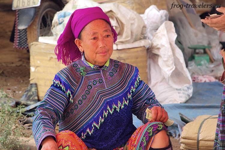 Женщина хмонг