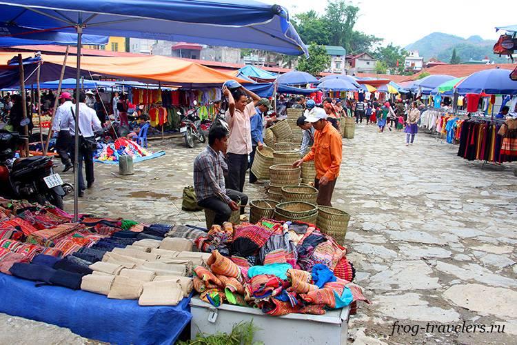 Рынки Лао Кай