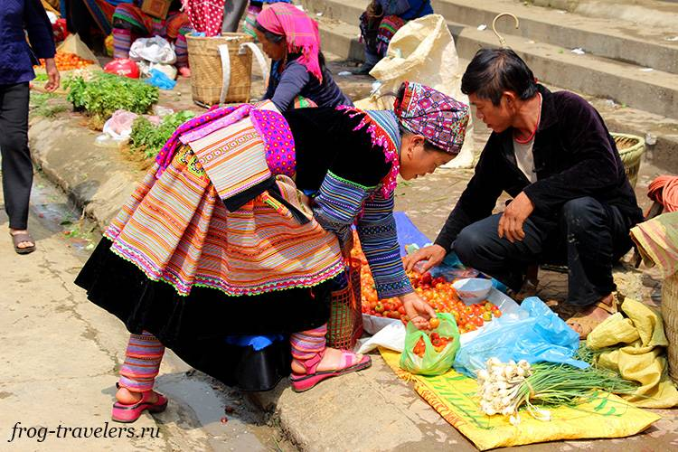 Оежда хмонгов