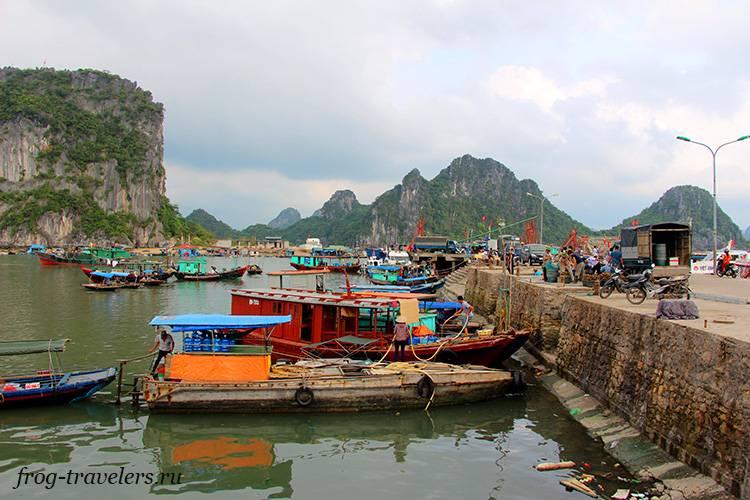 Паром на остров Ко То Вьетнам
