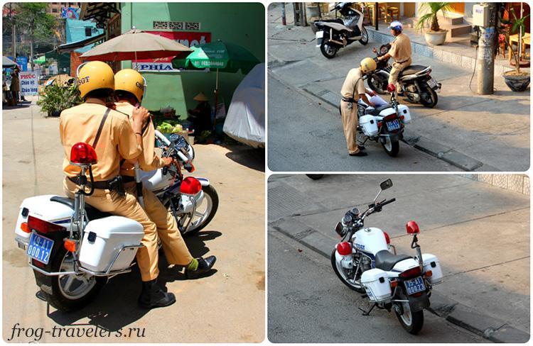 Полиция и штрафы во Вьетнаме