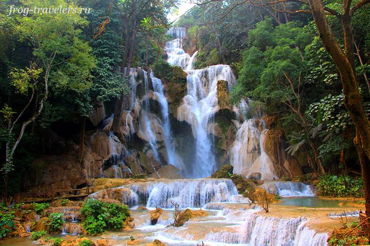 Водопад Kuang Xi Лаос